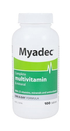 Myadec Multivitamin 100 tablets