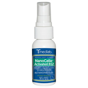 Medlab NanoCelle Activated B12 30mL Spray