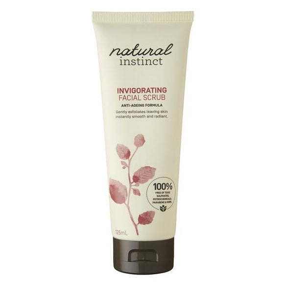 Natural Instinct Invigorating Facial Scrub 125mL