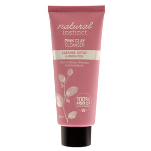Natural Instinct Pink Clay Cleanser 100mL