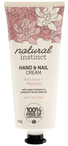Natural Instinct Hand & Nail Cream 100mL
