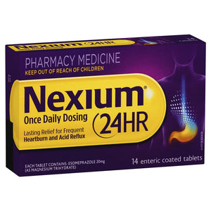 Nexium 24HR 14 Enteric Coated tablets