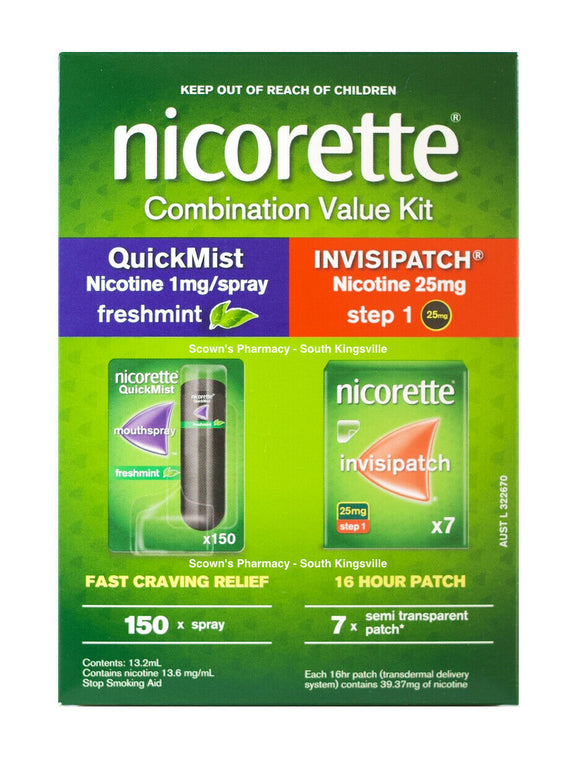 Nicorette Combination Value Kit