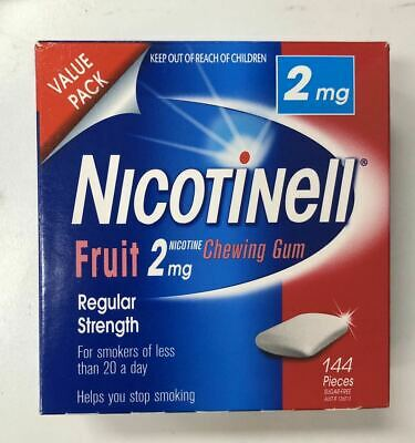 Nicotinell Gum Fruit 2mg 144 pieces