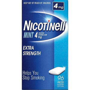 Nicotinell Gum Mint 4mg Extra Strength 96 pieces