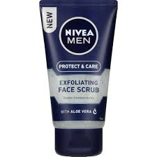 Nivea Mens Exfoliating Face Scrub 125mL