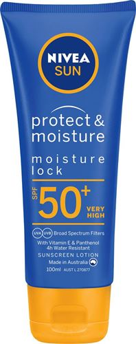 Nivea Protect & Moisture Moisture Lock SPF50+ Sunscreen Lotion 100mL