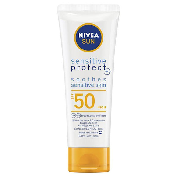 Nivea Sensitive Protect SPF50 Sunscreen Lotion 100mL