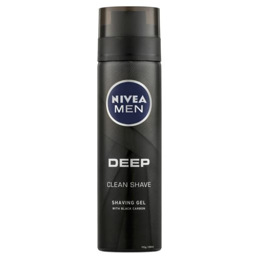 Nivea Men Deep Clean Shaving Gel 200mL