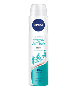 Nivea Womens Everyday Active Fresh 48h Anti Perspirant 250mL