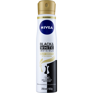 Nivea Womens Invisible Black & White Silky Smooth 48h Anti Perspirant 250mL