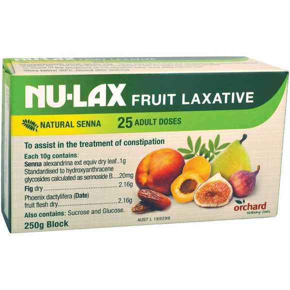 Nulax Fruit Laxative 250g