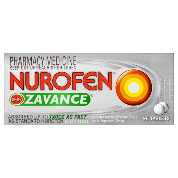 Nurofen Zavance 96 Tablets