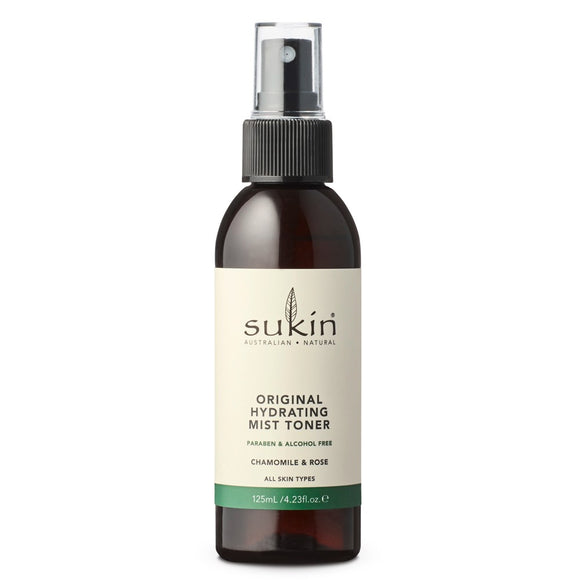 Sukin Original Hydrating Mist Toner 125ml