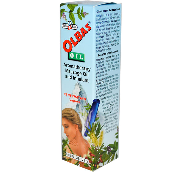 Olbas Therapeutic, Olbas Oil, 0.82 fl oz (25mL) (Discontinued)
