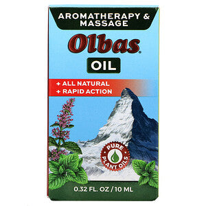 Olbas Therapeutic, Aromatherapy & Massage Oil, 0.32 fl oz (10 ml)