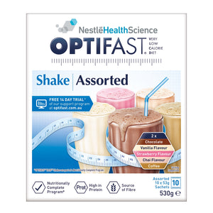 Optifast VLCD Shake 10 Sachets 530g (Assorted)