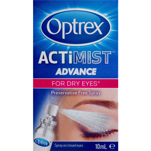 Optrex Actimist Dry Eyes Spray 10mL