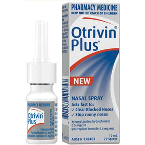 Otrivin Plus Adult Nazal Spray 10mL