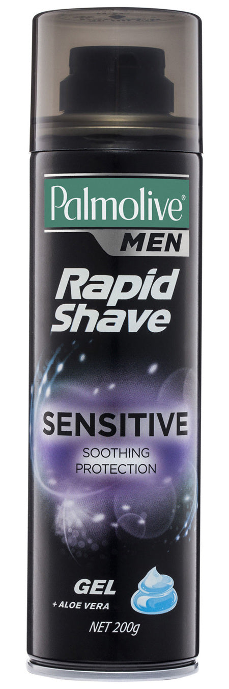Palmolive Men Rapid Shave Sensitive Gel 200g