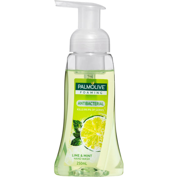 Palmolive Lime + Mint foaming hand wash 250mL