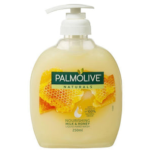 Palmolive liquid handwash 250mL (Milk and Honey)
