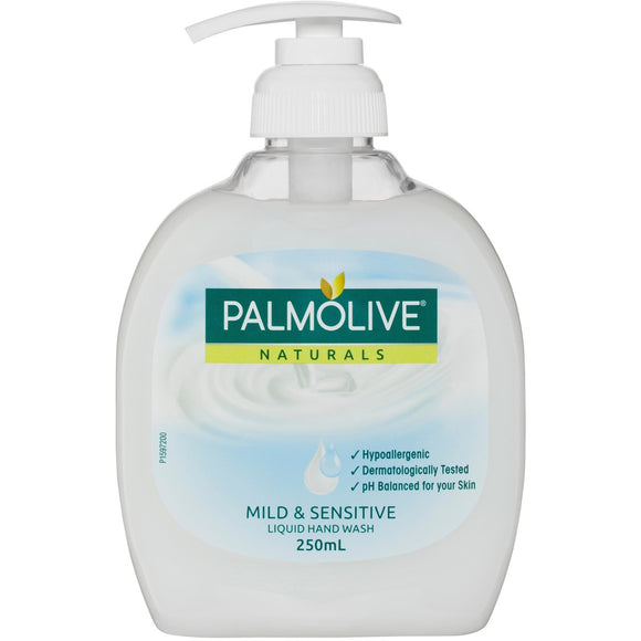 Palmolive Mild & Sensitive liquid handwash 250mL