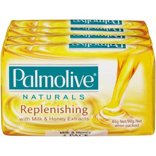 Palmolive Bar Soap 4 pack (Replenishing)