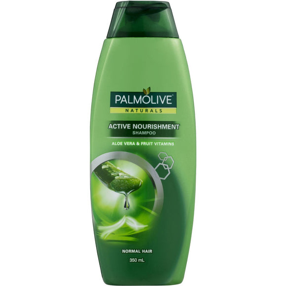 Palmolive Active Nourishment Shampoo - Aloe Vera & Fruit Vitamins 350mL