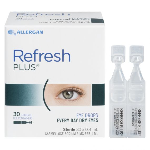 Refresh Plus Every Day Dry Eyes Preservative Free Eye Drops 30 x 0.4mL