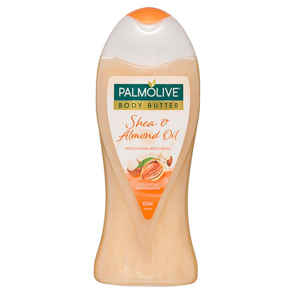 Palmolive Body Butter Shea and Almond Oil Body Wash 400ml