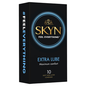 Skyn Extra Lube non-latex condoms 10