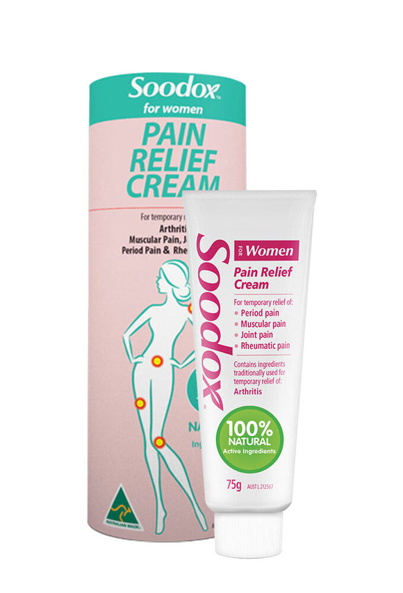 Soodox for Women Pain Relief Cream 75g