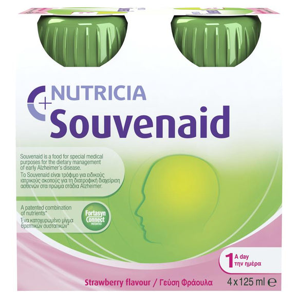 Souvenaid 125ml 4 pack (Strawberry)