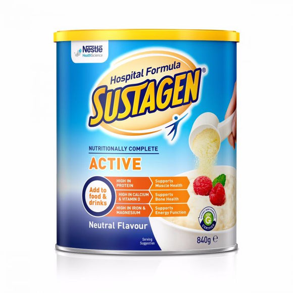 Sustagen Hospital Formula Active 840g (Neutral)