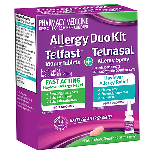 Telfast Allergy Duo Kit