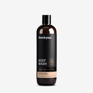 Thankyou Orange & Sweet Almond Body Wash 500ml