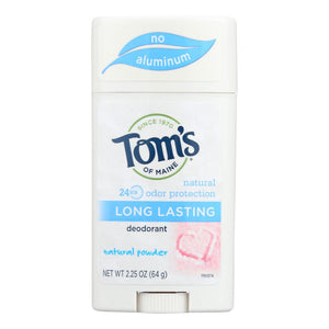 Tom's Natural Powder Womens Long Lasting Antiperspirant 64g