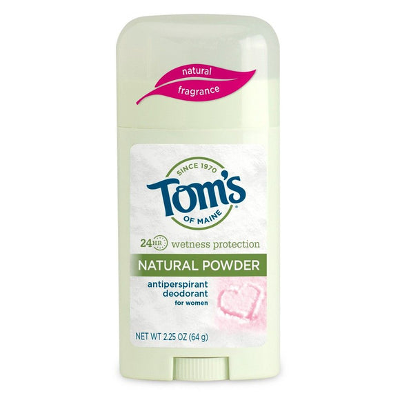 Tom's Natural Powder Womens Antiperspirant 64g
