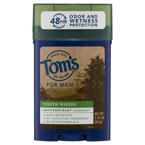 Tom's North Woods Men's Antiperspirant 64g