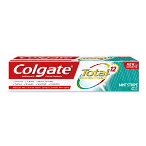 Colgate TOTAL® Whole Mouth Health Mint Stripe Toothpaste 115g