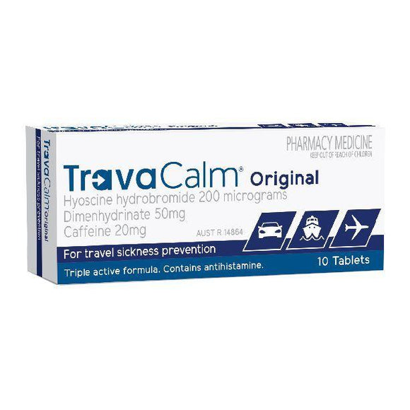 Travacalm Original Tablets 10