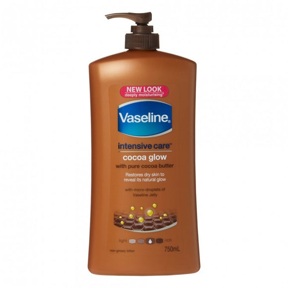 Vaseline Intensive Care Cocoa Glow 750mL