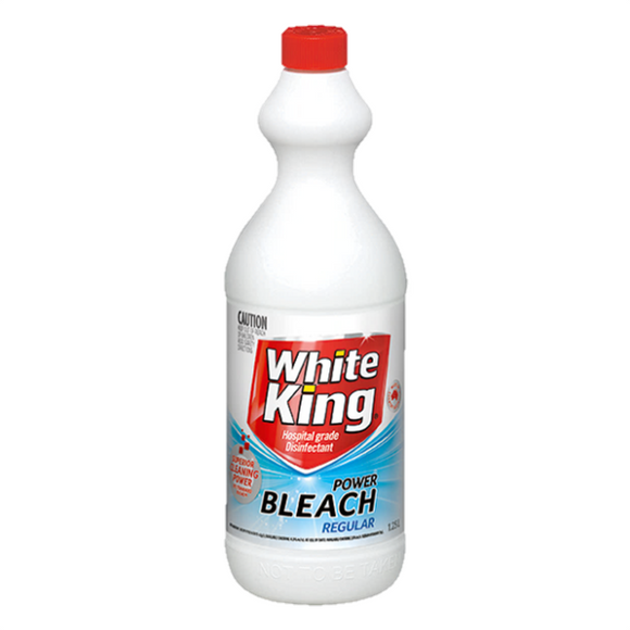 White King Bleach Regular 1.25 Litre