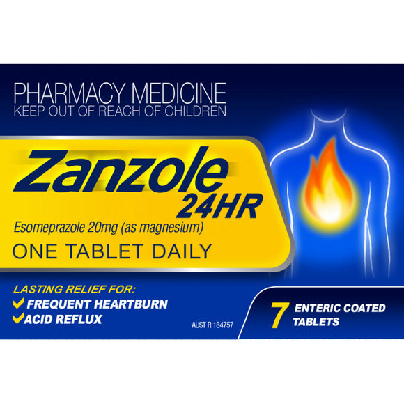 Zanzole 24HR 7 Enteric Coated Tablets