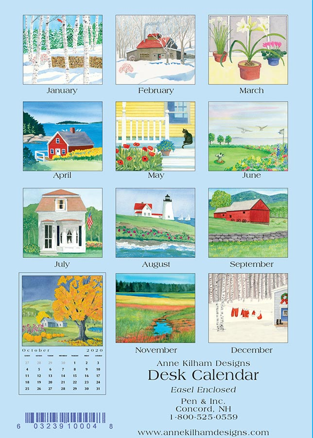 2020 Desk Calendar - Loose Pages