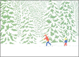 Cross Country Ski Print