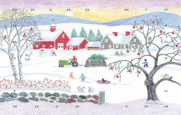 Christmas in the Country Advent Calendar