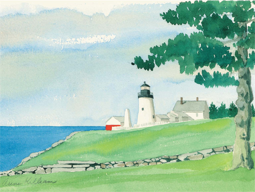 Pemaquid Light Print