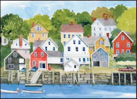 Downeast Village Print